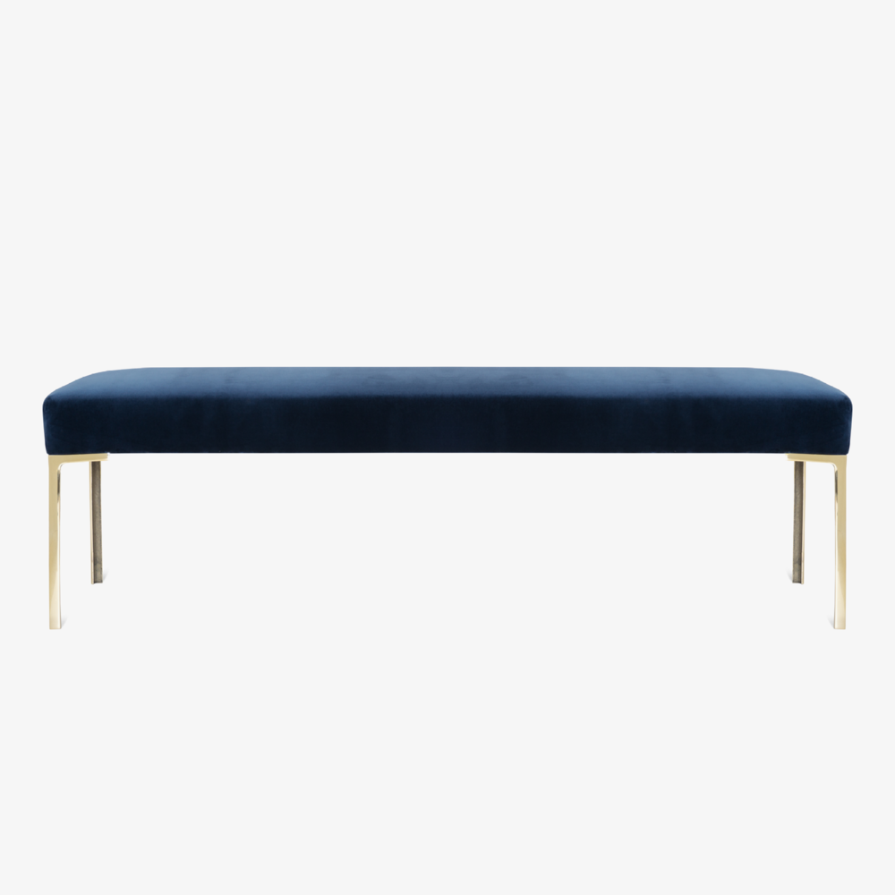 Astor 60%22 Brass Bench in Navy Velvet.png