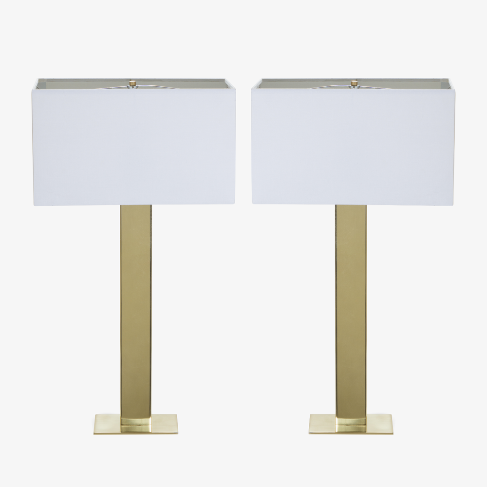 Buffet Lamps in Polished Brass, Pair.png