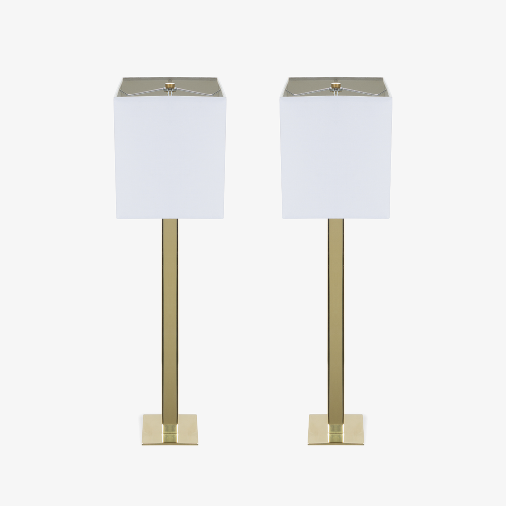 Buffet Lamps in Polished Brass, Pair3.png