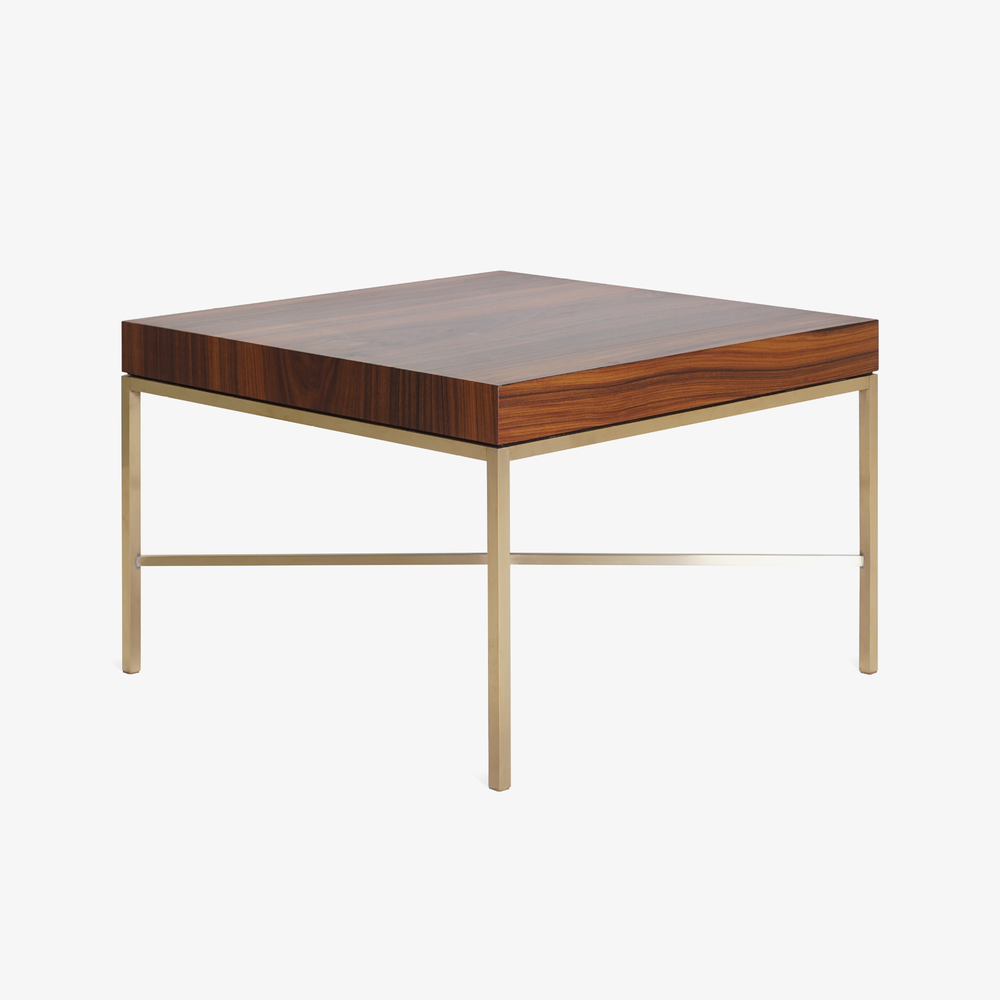 Brass Cross Stretcher Table in Rosewood4.png