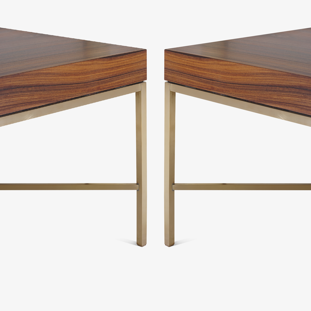 Brass Cross Stretcher Table in Rosewood5.png