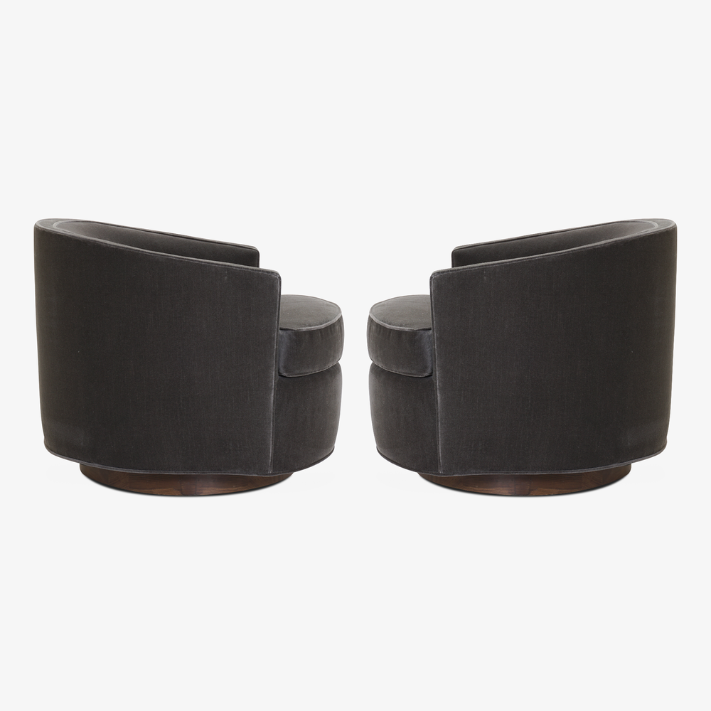 Swivel Tub Chairs in Shadow Velvet, Pair3.png