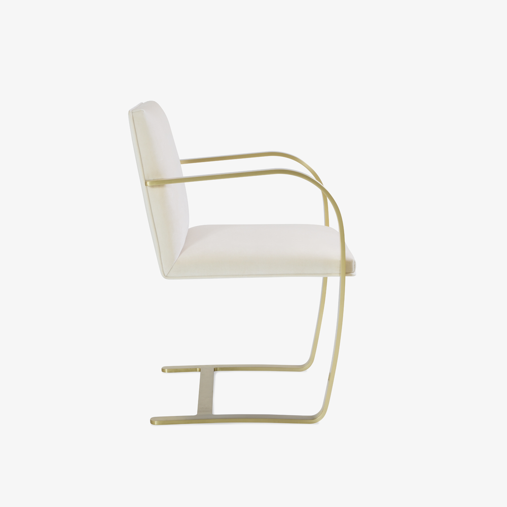 Brno Flat-Bar Chairs in Creme Velvet, Brushed Brass2.png