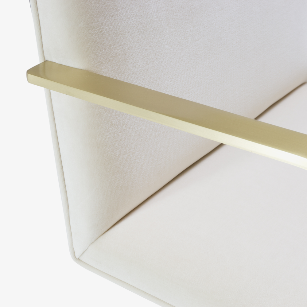 Brno Flat-Bar Chairs in Creme Velvet, Brushed Brass6.png
