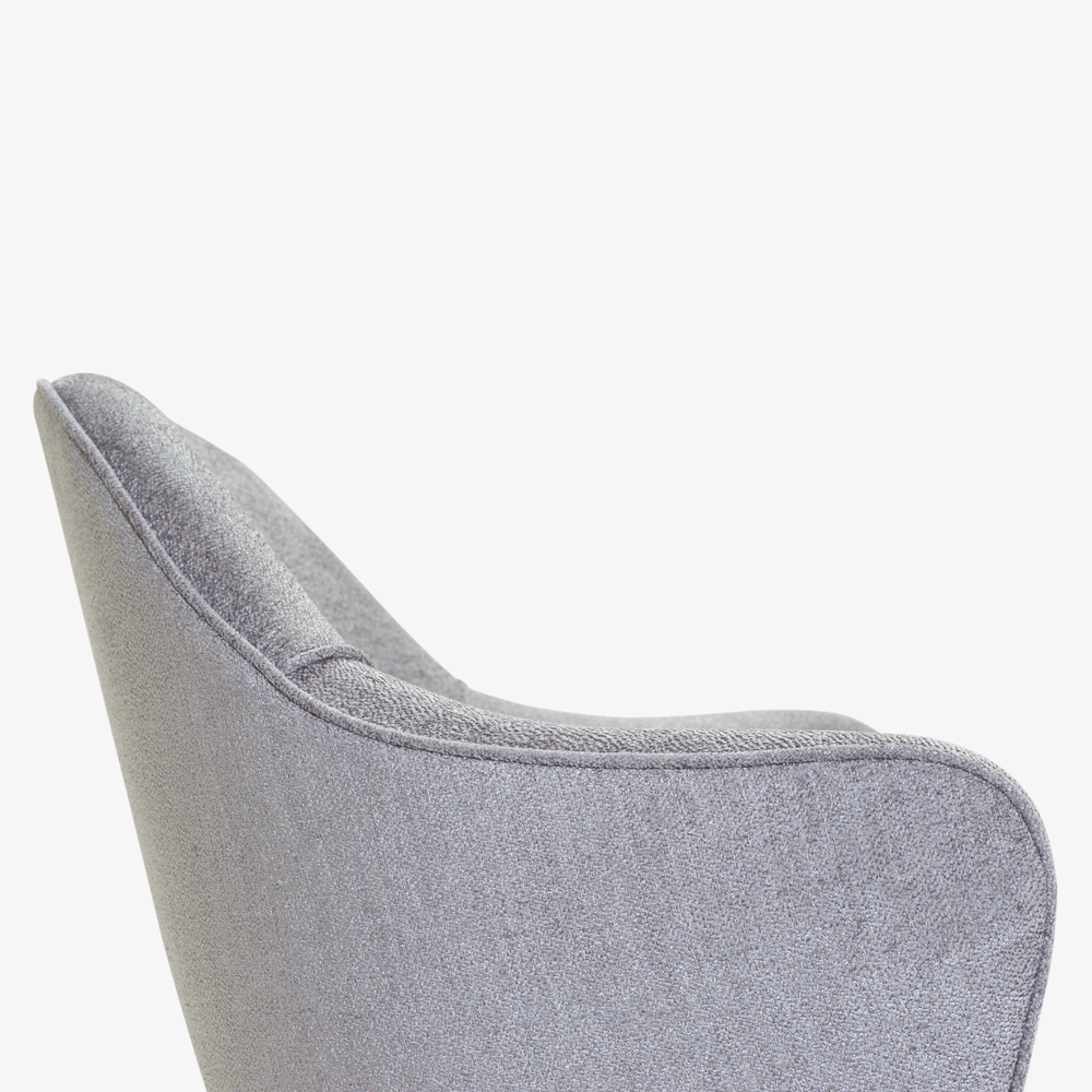 Saarinen Executive Arm Chair in Sterling, Swivel Base5.png