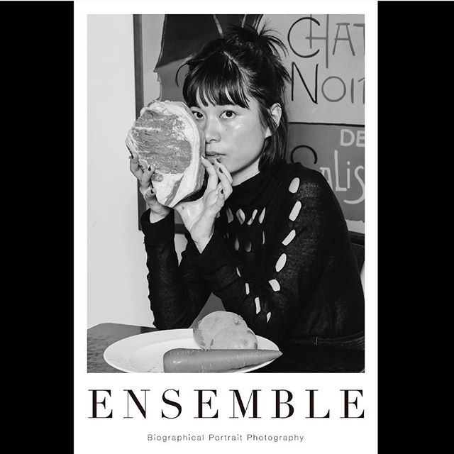 _ Portrait poster from 「Ensemble02」.For our first exhibition [OPUS ONE] at Omotesando Rocket in January 2018. Size:614×910  #rantondabayashi  #とんだ林蘭  #tableensemble  #ensemble