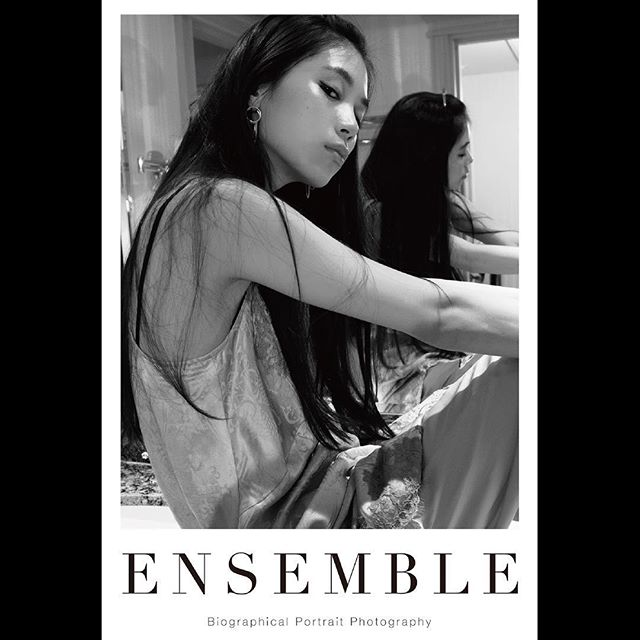 _ Portrait poster from 「Ensemble01」.For our first exhibition [OPUS ONE] at Omotesando Rocket in January 2018. Size:614×910  #ayanamiyamoto  #宮本彩菜 #tableensemble  #ensemble