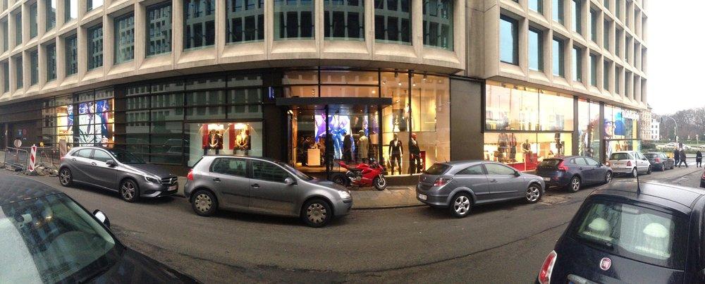 Vue panoramique de la boutique