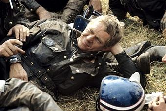 Steeve McQueen qui porte...une barbour ! Eh oui, la demande était forte...