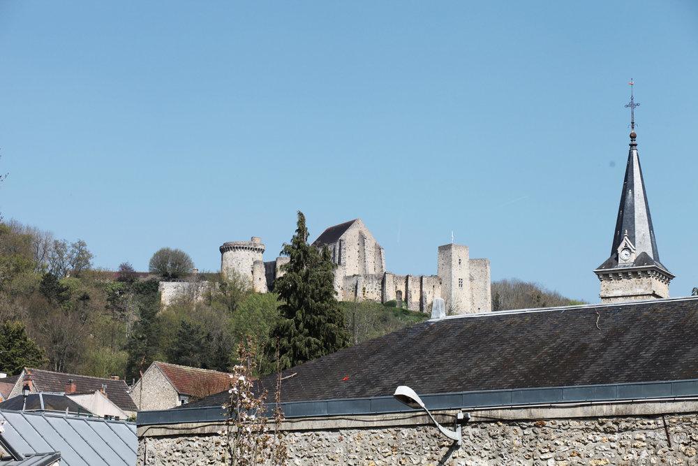 Le fameux château de la Madeleine à Chevreuse