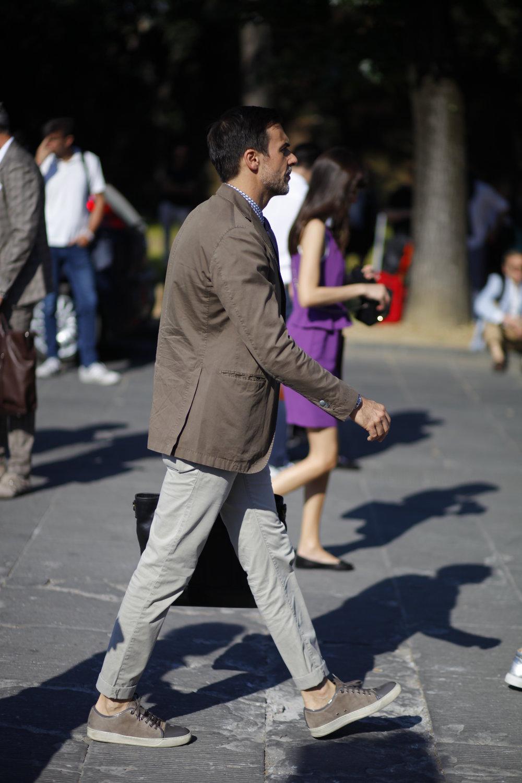 Pitti Uomo 92 lanvin sneaker