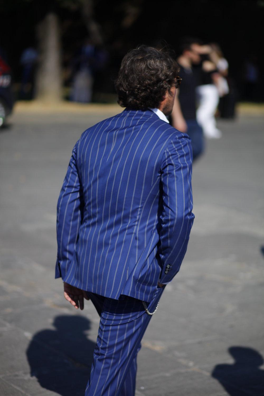 Pitti Uomo 92 stripe rayures