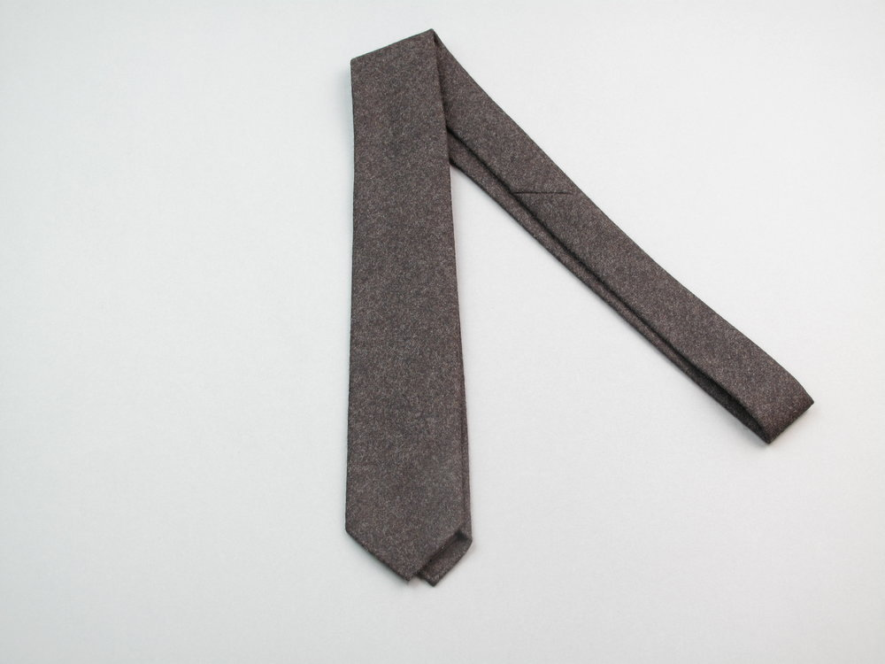 Cravate Les Indispensables Paris Laine Vitale Barberis Canonico Tie Flannel