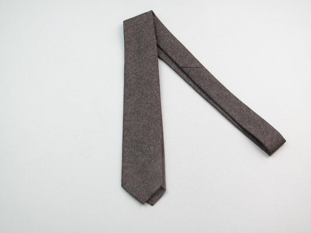 Cravate Les Indispensables Paris Laine Vitale Barberis Canonico Tie Flannel
