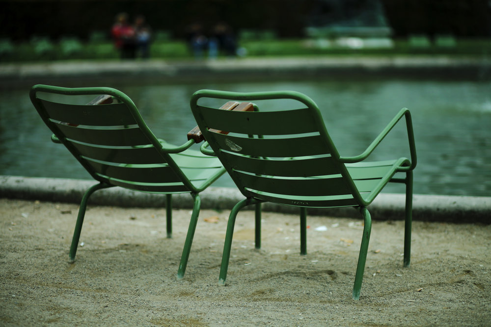 Paris jardin tuileries