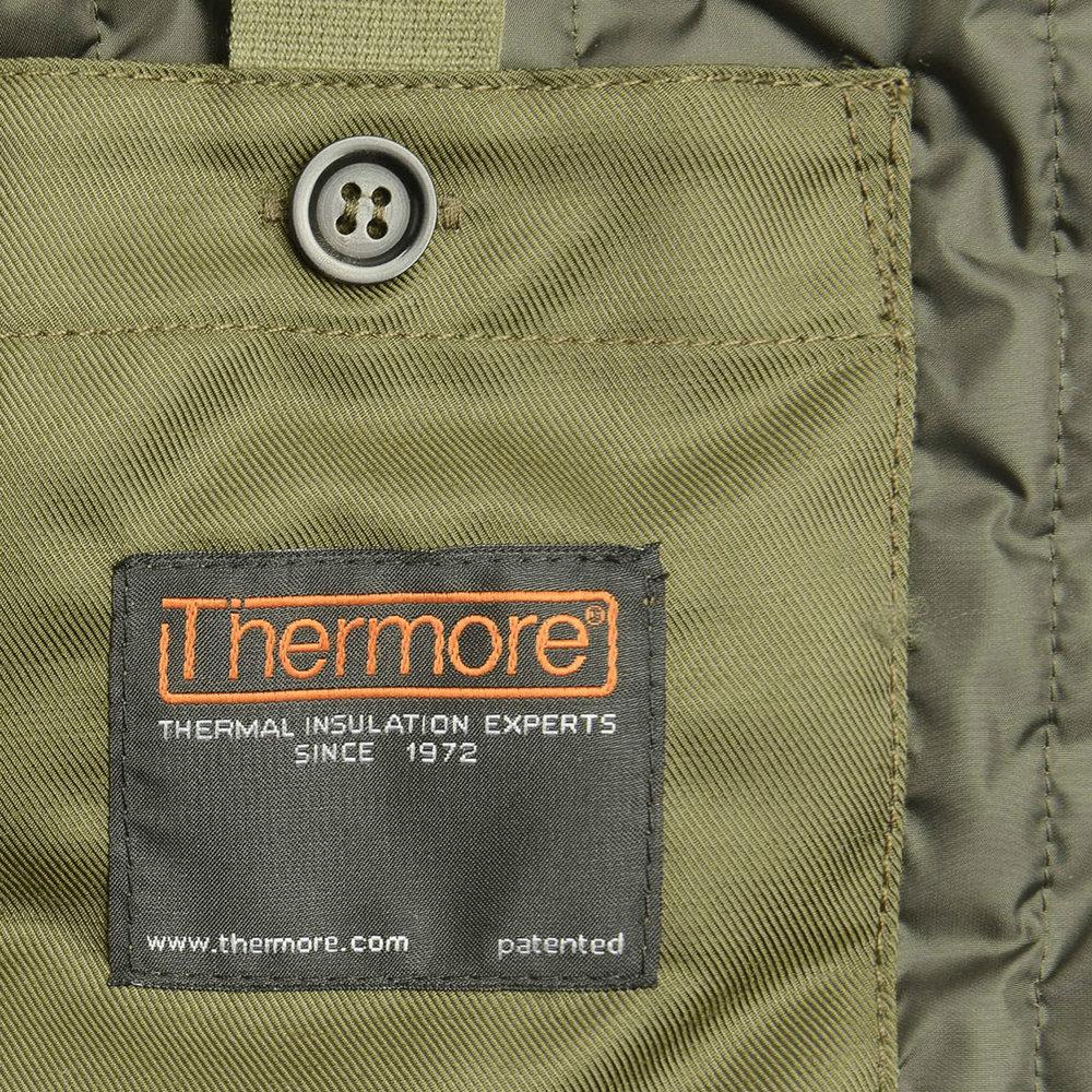 Doublure Thermore pour plus de chaleur - si vous avez lu notre premier article sur Aspesi vous êtes déjà famillier de cette marque