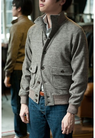 Une photo qui date de quelques années : Mark Cho (The Armoury) porte une Ring Jacket