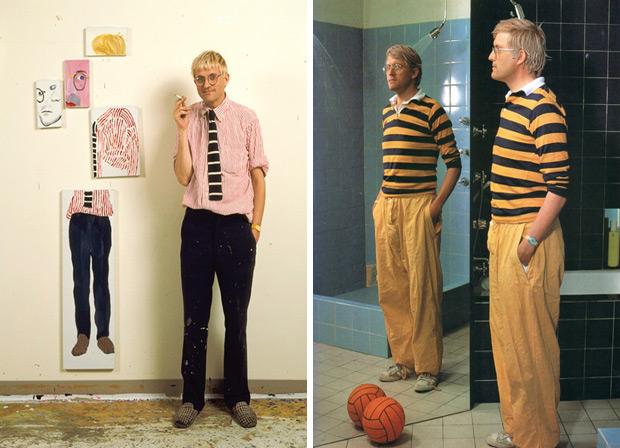 David Hockney - Peintre anglais