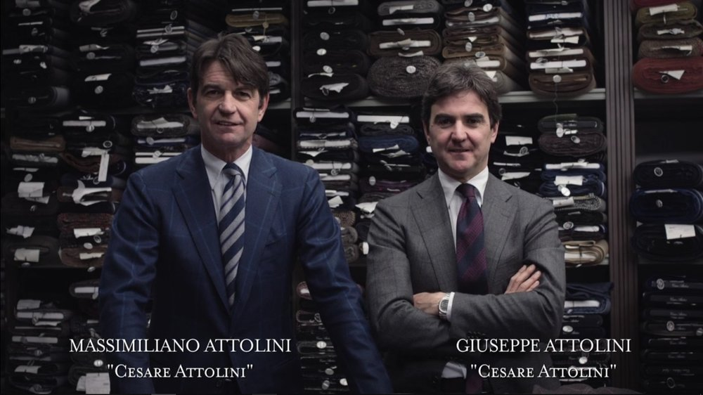 E poi c'è Napoli - Kid Dandy Production Les frères Attolini à la tête de la célèbre marque Cesare Attolini