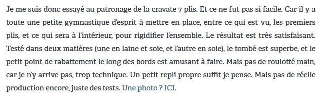 Le roulotté, ça n'a l'air de rien et pourtant…le tailleur Julien Scavini confiait dans un article datant de 2012 qu'il n'arrivait pas à reproduire cette finition, trop technique…