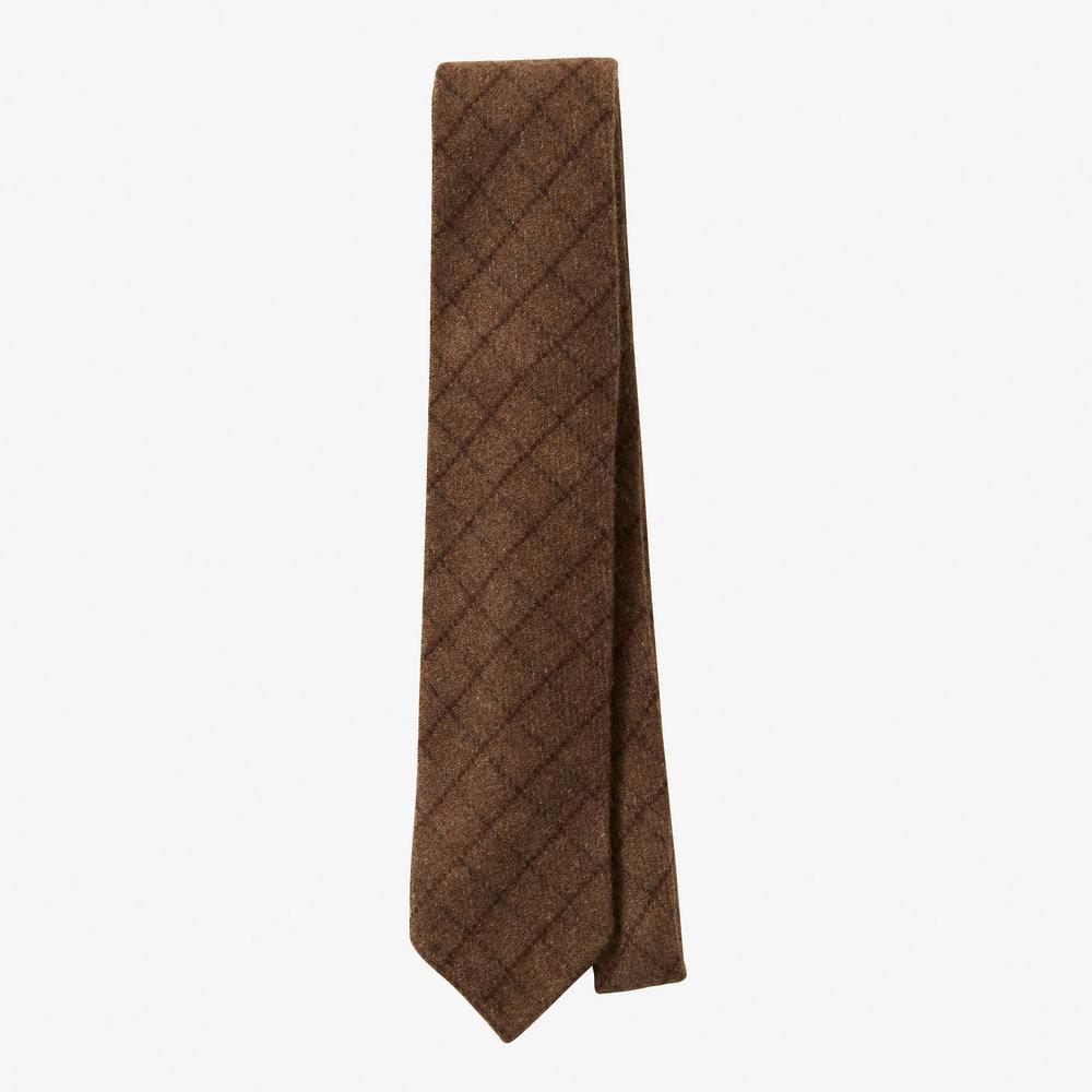 2ème exemple - Cravate Anglo-Italian - Tissu 100% cachemire Joshua Elis