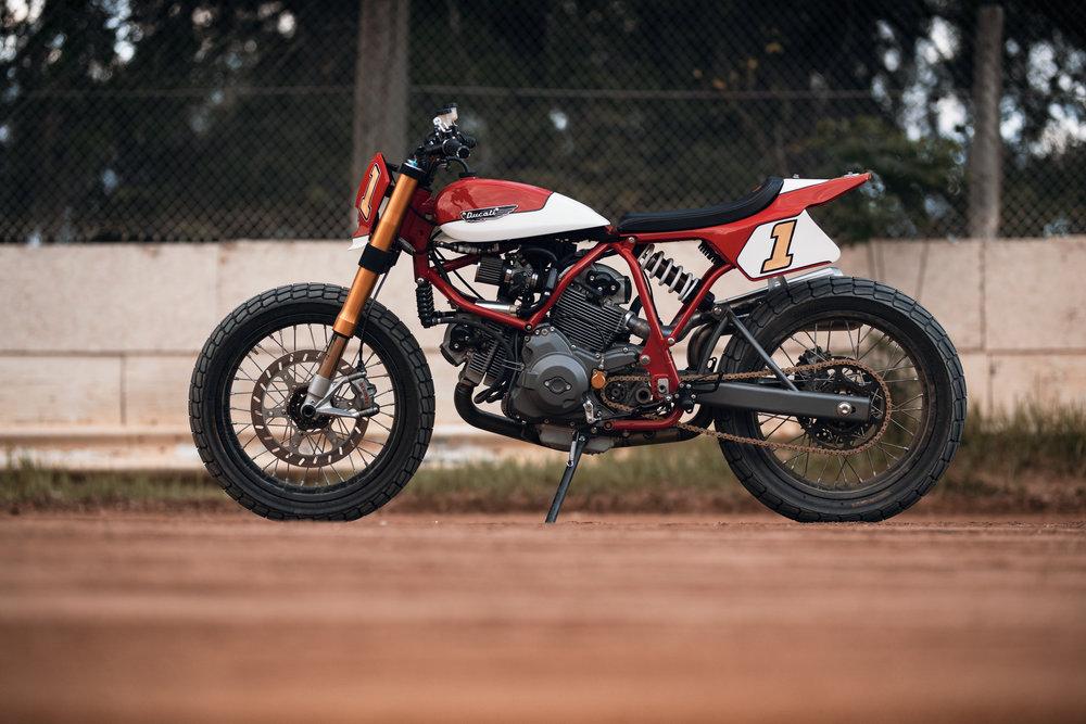 Fuller Moto Limited Edition Ducati Pro Street Tracker