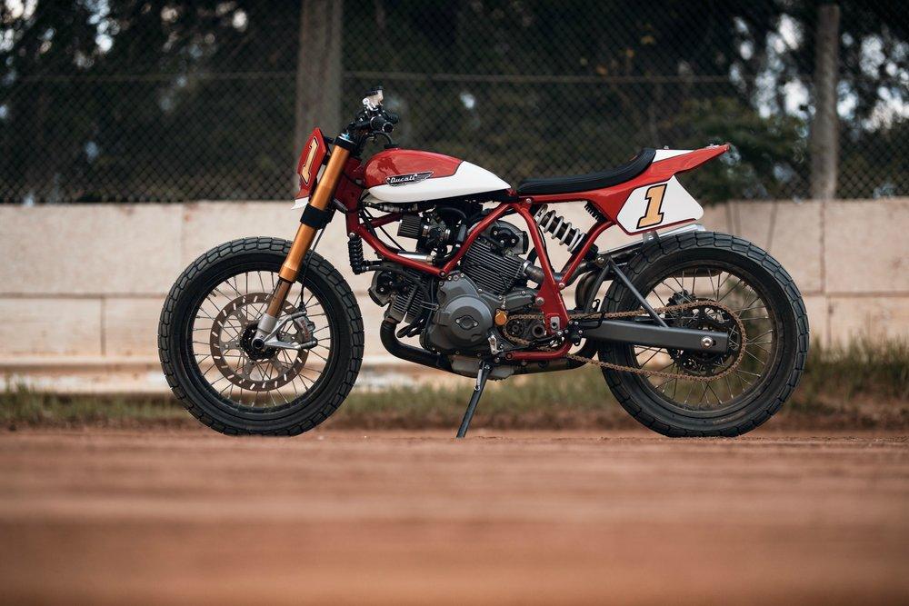 The Fuller Moto Ducati Pro-Street Tracker