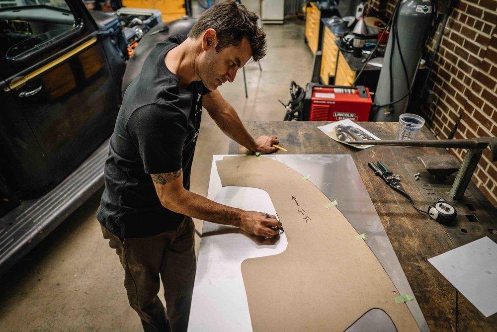 Roughing Aluminum Fenders DIY
