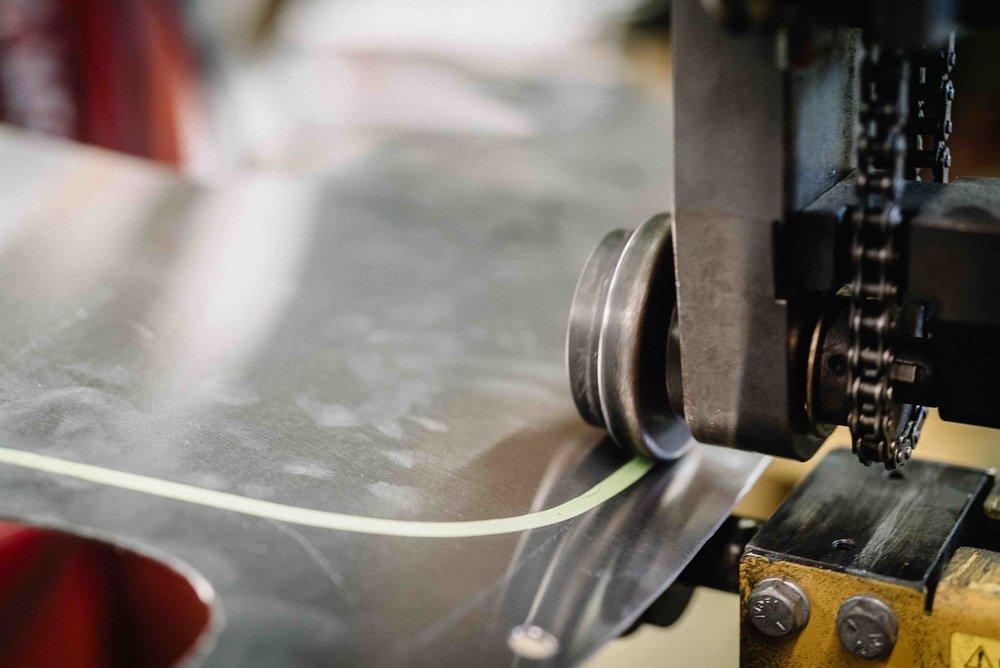 Bead Rolling Aluminum Fenders DIY