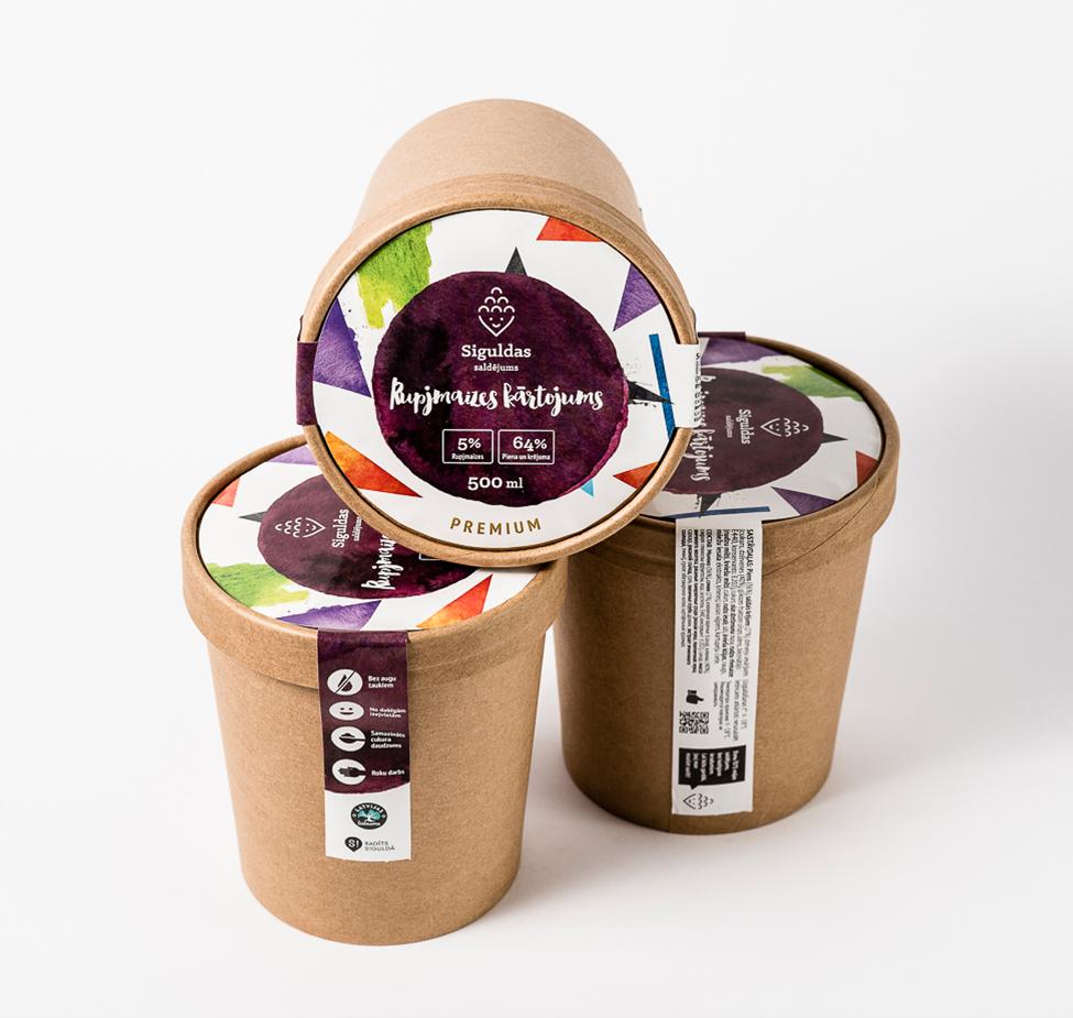 Siguldas saldējums - Rupjmaizes kārtojums