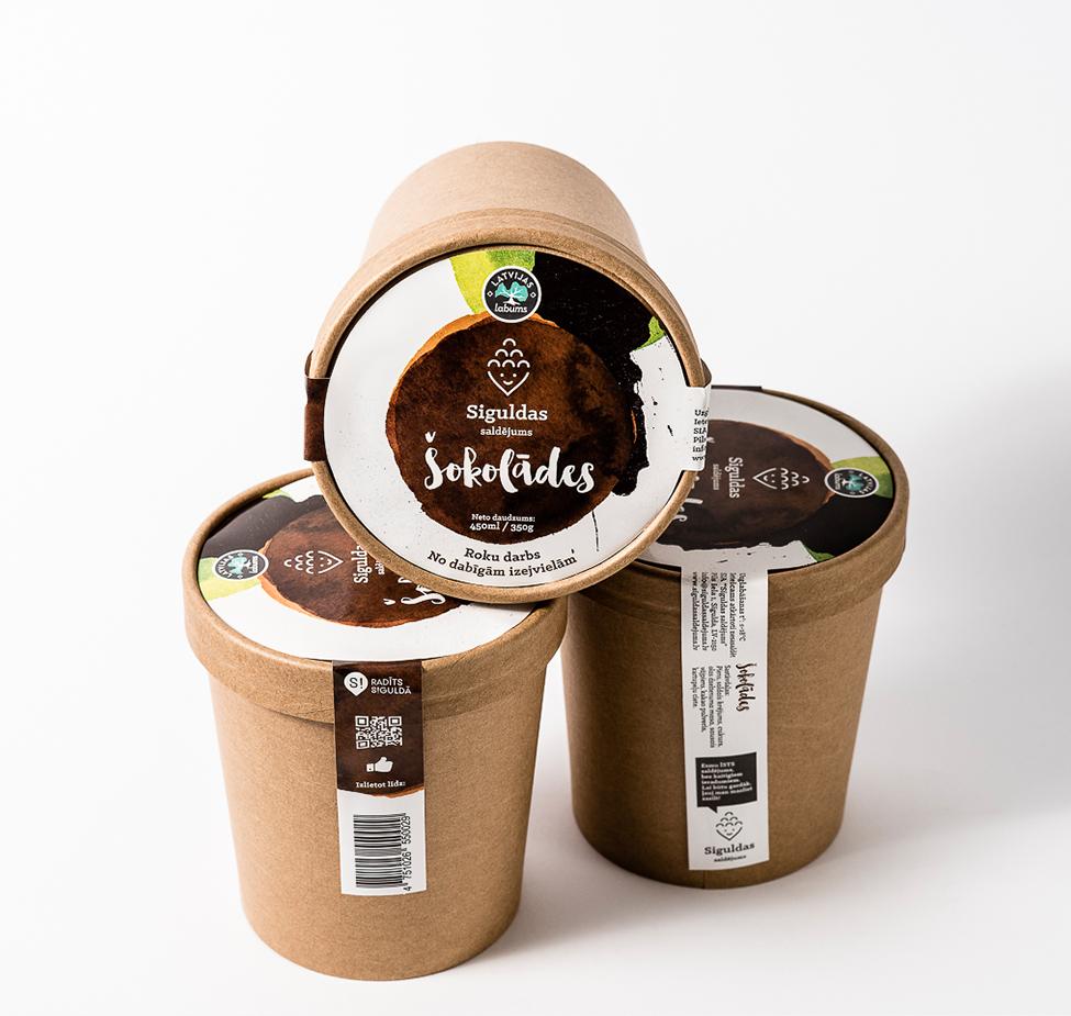 Siguldas saldējums - Šokolādes