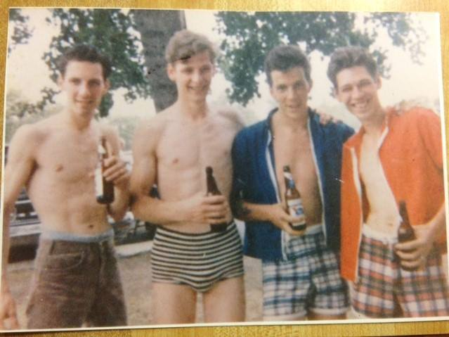 (He's the one with the Blue Cardigan on, 3 from the left)