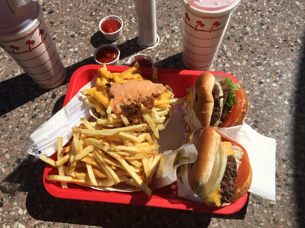"""""""OVER-THE -TOP """" AT IN & OUT - LA, CA"""