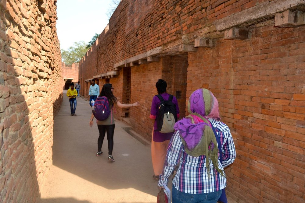 Guiding a pilgrimage to Nalanda, the ancient university of the Great Indian Sages.