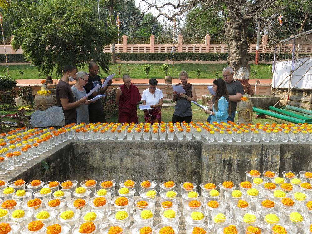 Dedication of offerings.