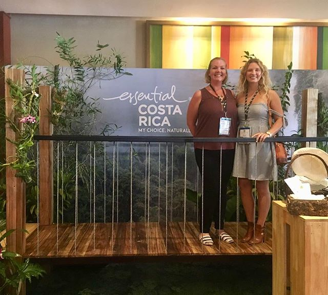 Our co-founder, Rachel Wilson, and Emily Meehan representing us well at the P3 (planet, people, peace) conference in San Jose, Costa Rica! The name of the conference represents Costa Rica's focus on redirecting the essence of its People back to the Planet while sharing their experience as a country of Peace. . . #internationalecotourism #lasolastravel #ticotime #experiencesoverthings #yesdiscovernature #responsibletravel #voluntourism #sustainabletravel #thisisparadise #responsibletourism #sustainabletourism #allaboutadventures #volunteerlife #womanowned #idratherbeexploring #radgirlscollective #discover_vacations #discoveraround #fempreneur #ladypreneur #dreamvacation #sheadventures #forceofnature #wheretofindme #ecotourism #traveladdict #costarica #p3