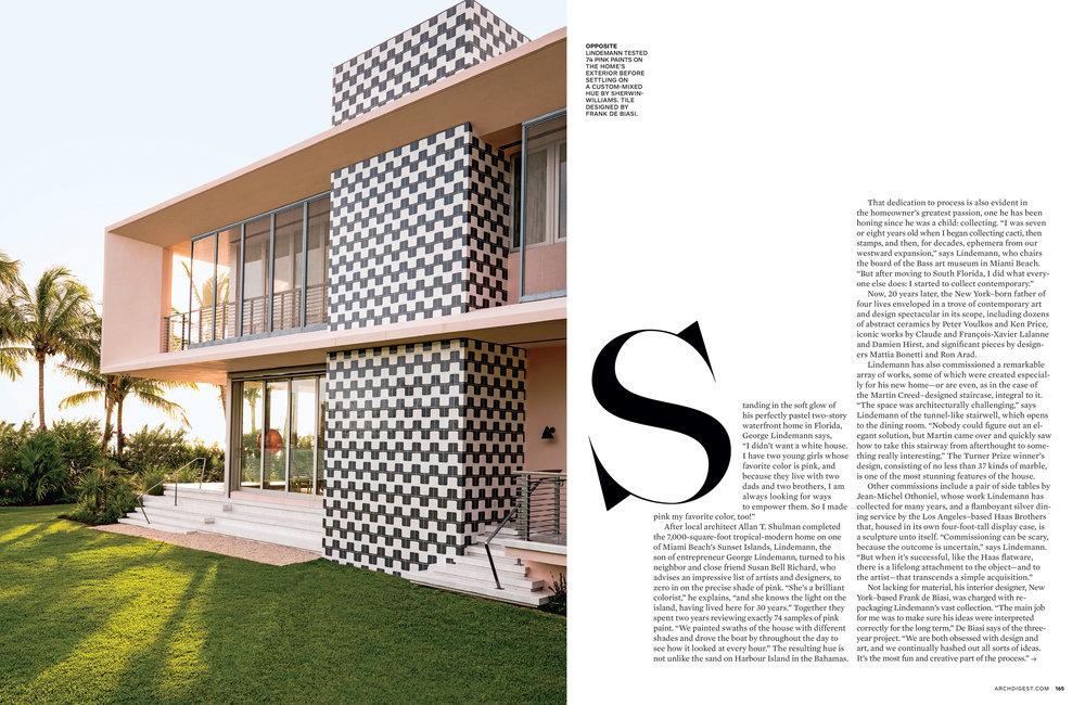 AD Magazine - George Lindemann