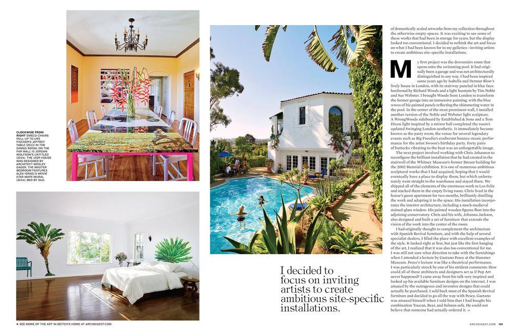 AD Magazine - Jeffery Deitch