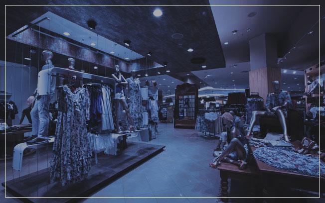 loja de departamentos, Organização