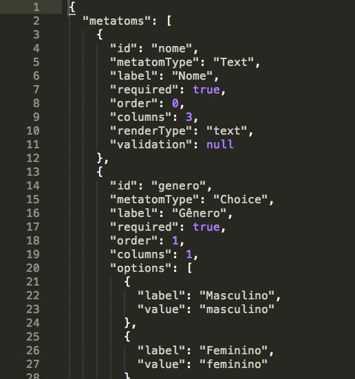 Simplificar a criação de estruturas de dados - A partir de um objeto JSON enviado para um end-point de API são criadas e modificadas as estruturas de dados com regras de validação e formatação.
