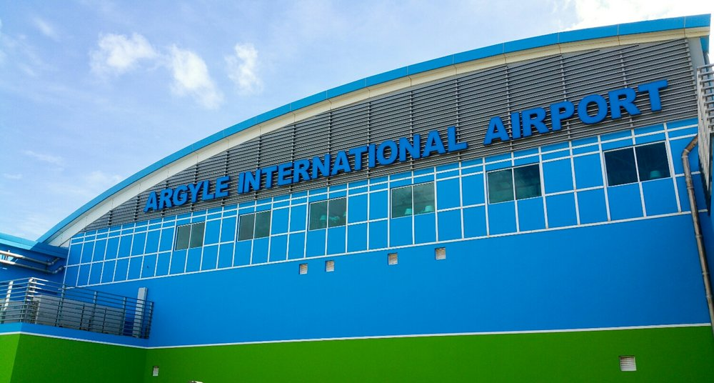 Welcome to the Argyle International Airport AIA.