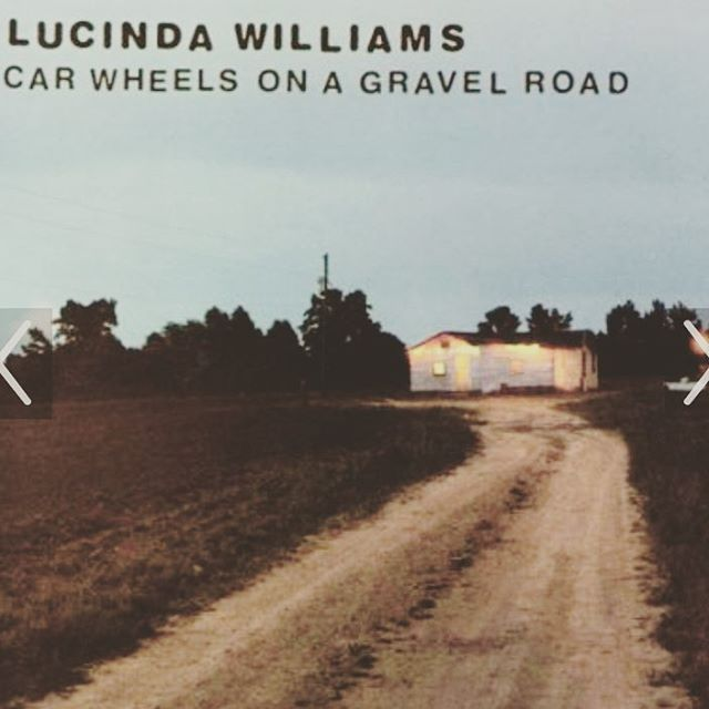 Thanks @joejandrews for taking me Tuesday to see @lucinda_williams at the Ryman ... palette cleansed.