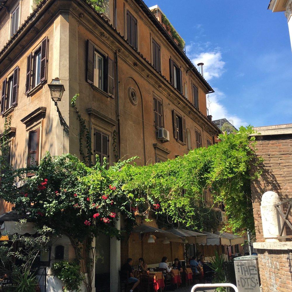 Trastevere, Rome, September 2016.