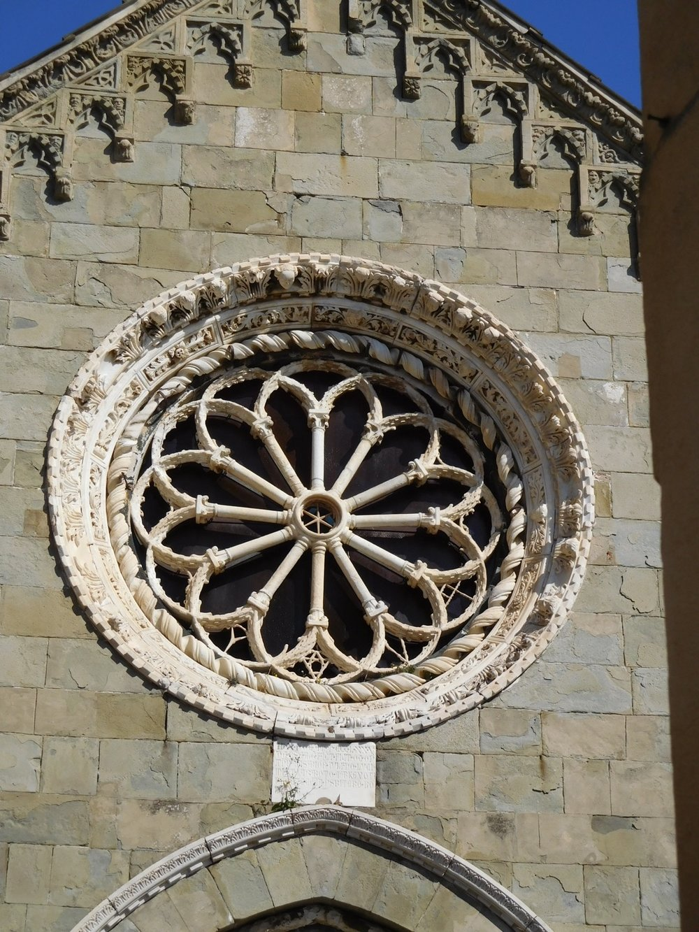 Rose Window in the Church of San Lorenzo