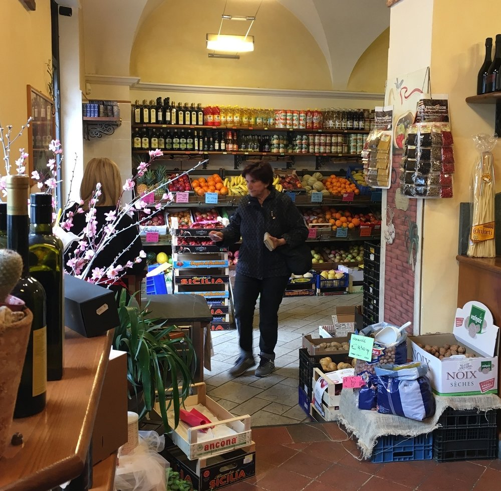 Another view of the Ortofrutta, so much more charming than my local grocery store at home!