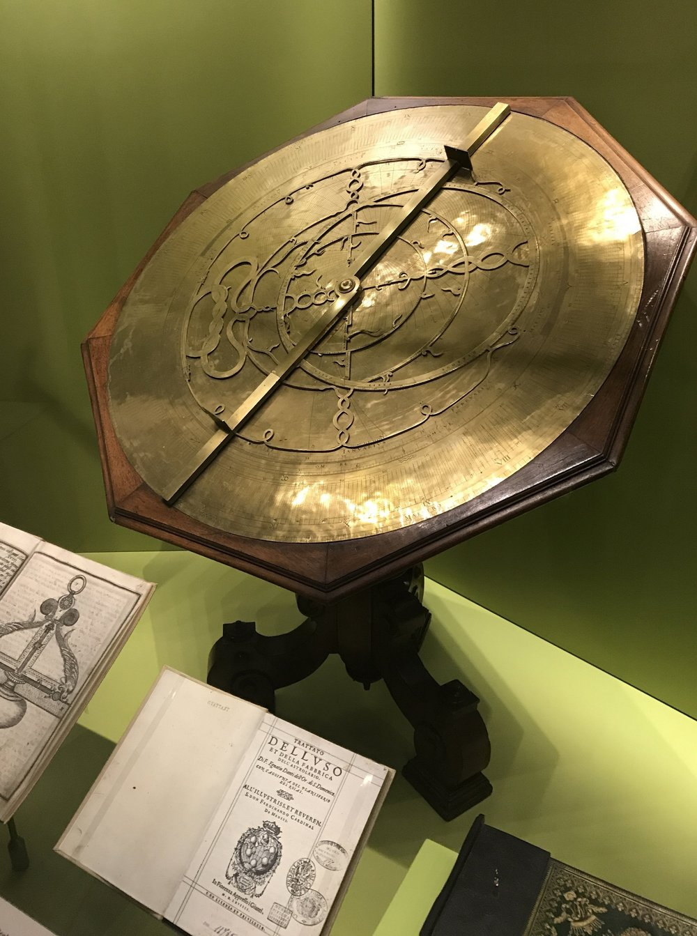 An astrolabe from the 16th century, used to measure the inclined position in the sky of a celestial body.