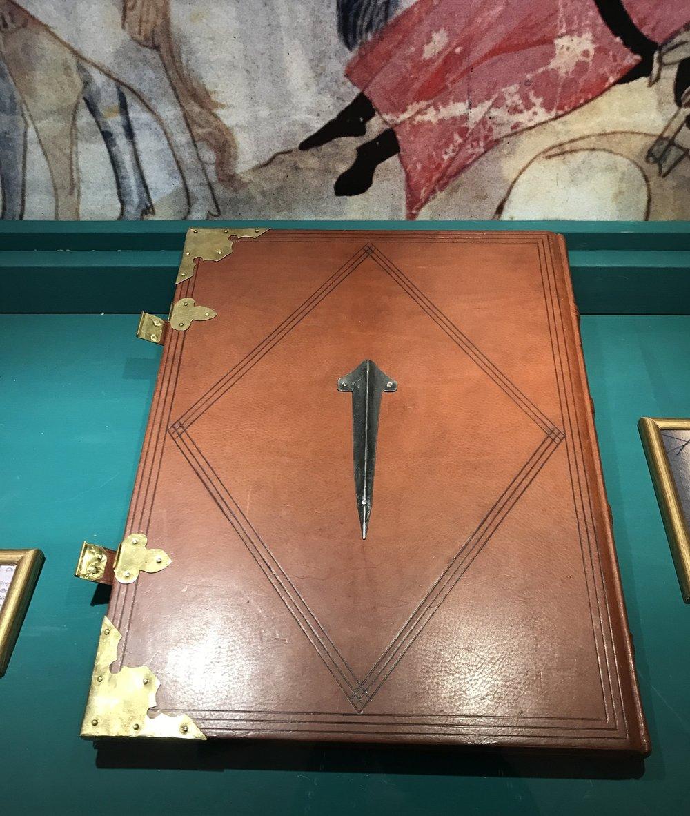 "The ""Libro del Chiodo,"" or ""Book of the Nail"""