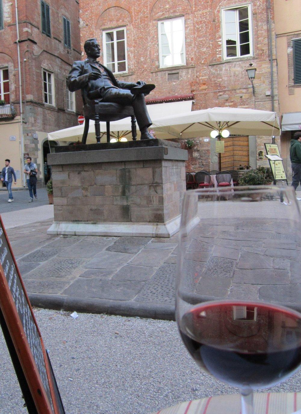 Piazza Cittadella, Lucca.