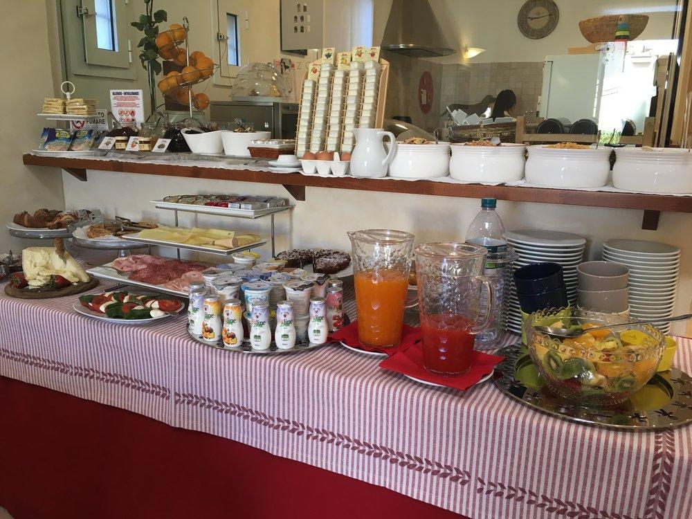 Breakfast Buffet B&B Palazzo Trevi