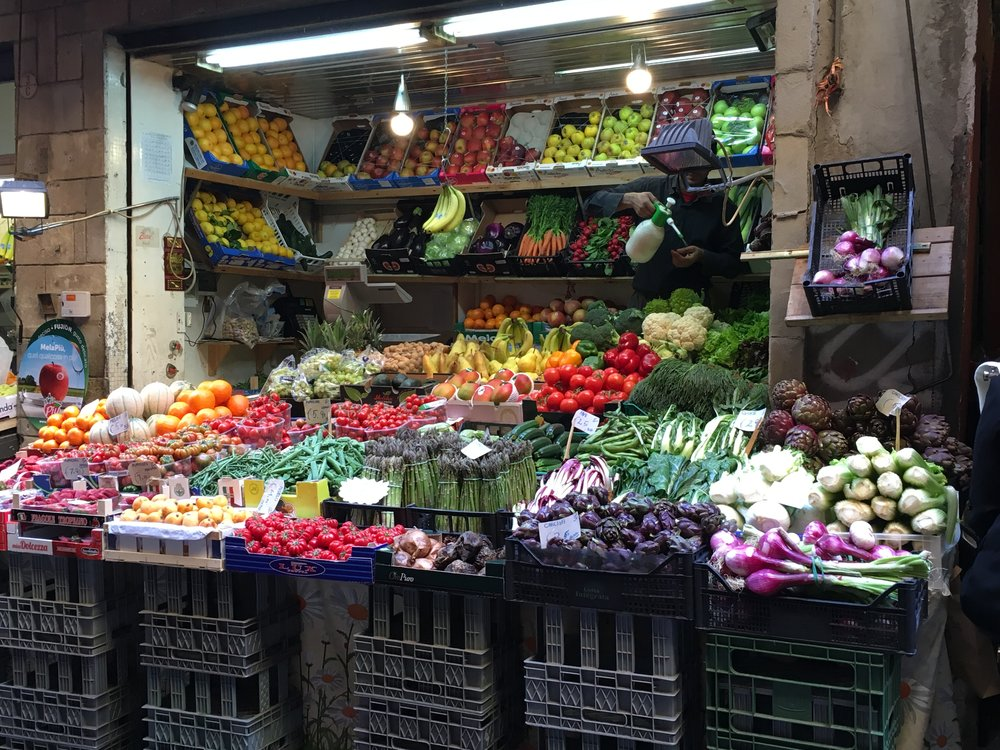 Fruits and Veggies Via Pescherie